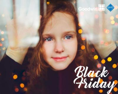 Black Friday: Special discounts on Goodwin designs