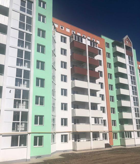 ЖК в Полтаве, окна и балконы Гудвин