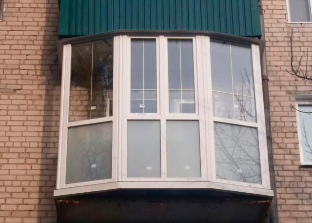 Остекление балкона в Кременчуге