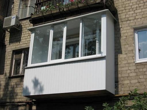 Остекление балкона в Кривом Роге