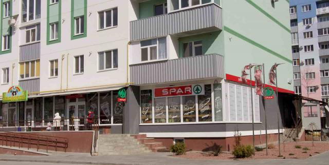 Остекление магазина, Полтава