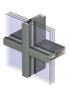 Cтоечно-ригельная фасадная система