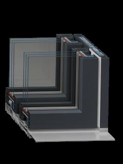 Панорамная раздвижная система VEKASLIDE от компании Goodwin